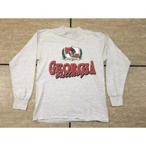 Vintage Miller Georgia Bulldogs Loose Sweat Shirt